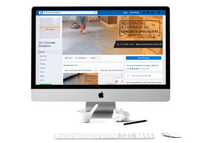 3G Concrete Solutions Social Media