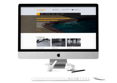 3G Concrete Solutions Website