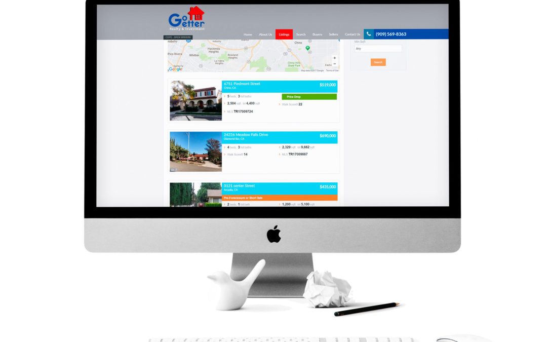 Go Getter Realty and Investment Website