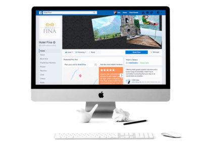 Hotel Fina Social Media