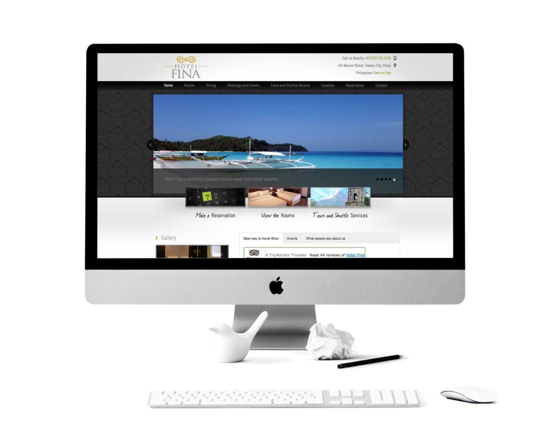 Hotel Fina Website