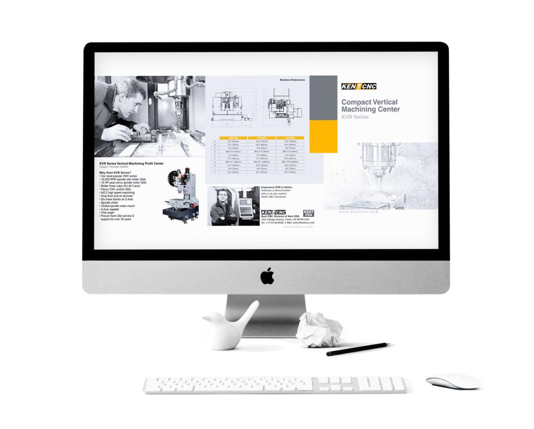 Kent CNC Tri-Fold Brochure