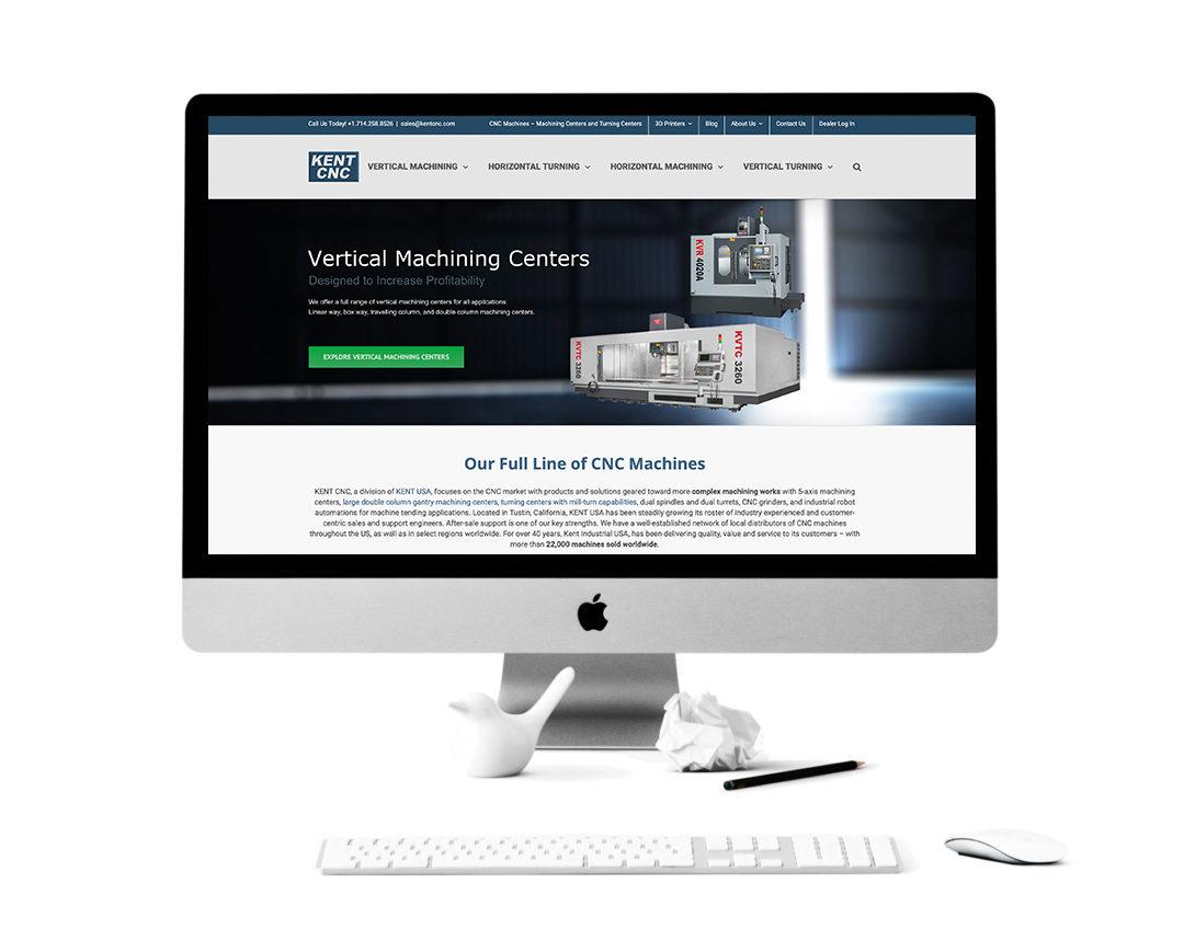Kent CNC Website