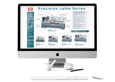 Kent USA Lathe Product Line Brochure