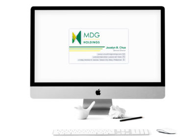MDG Holdings Business Card