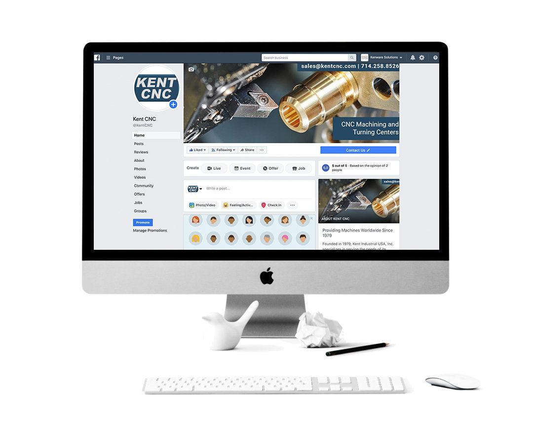 Kent CNC Social Media